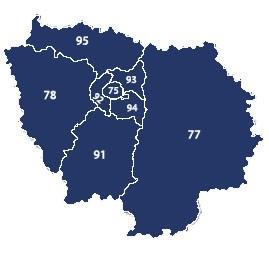 Livraison sur Paris et Région Parisienne