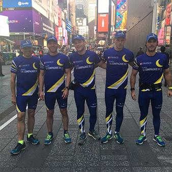 équipe de marathon