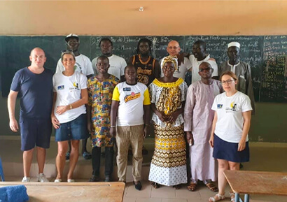 equipe dirigeante d'un ecole accompagné pour les responsables de La Compagnie di Lit
