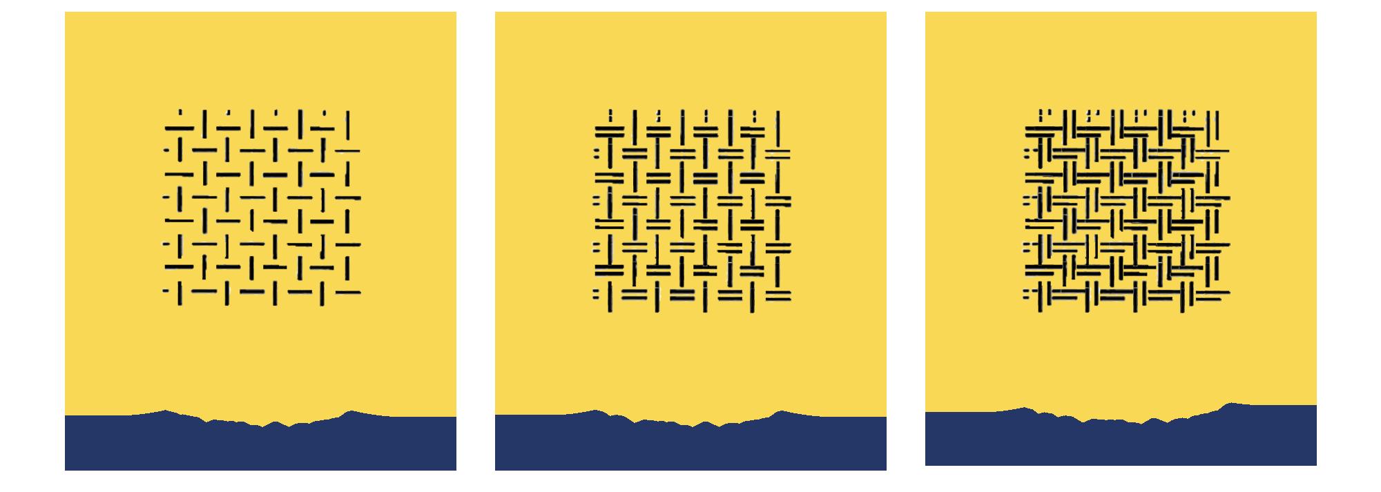 les différentes couture au cm²